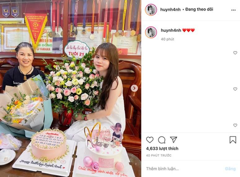 Huỳnh Anh vừa có động thái khẳng định mối quan hệ với Quang Hải đang cực tốt sau loạt drama-1
