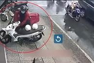 Lợi dụng trời mưa, tên trộm ở TP.HCM bẻ khóa xe máy