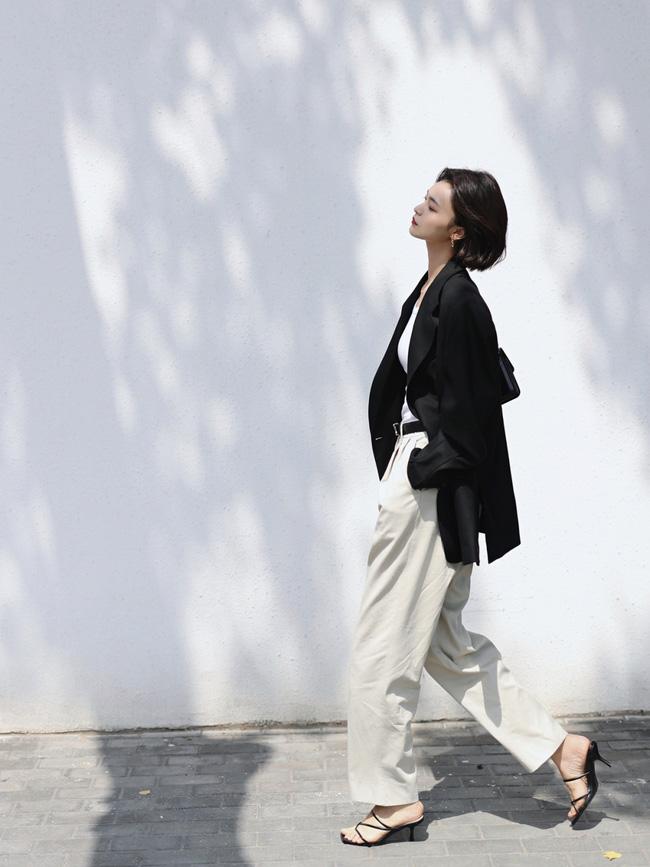 Street style Châu Á đồng loạt tẩy chay quần ôm, chỉ diện thiết kế ống rộng nhưng tạo được cả chục bộ đồ mặc đi làm đẹp hết nấc-1