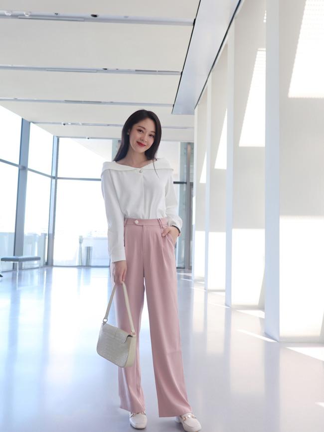 Street style Châu Á đồng loạt tẩy chay quần ôm, chỉ diện thiết kế ống rộng nhưng tạo được cả chục bộ đồ mặc đi làm đẹp hết nấc-8