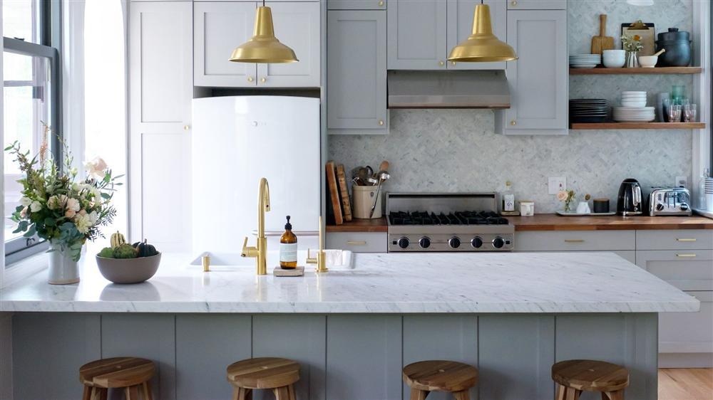 Những mẫu nhà bếp đẹp, ấn tượng và sang trọng với cách bài trí thông minh-1