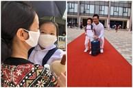 Sao Việt có con vào lớp 1: Con trai Tuấn Hưng được khen dạn dĩ, đáng chú ý nhất là 1001 dụng cụ mang đi học của con gái Hạnh Thúy
