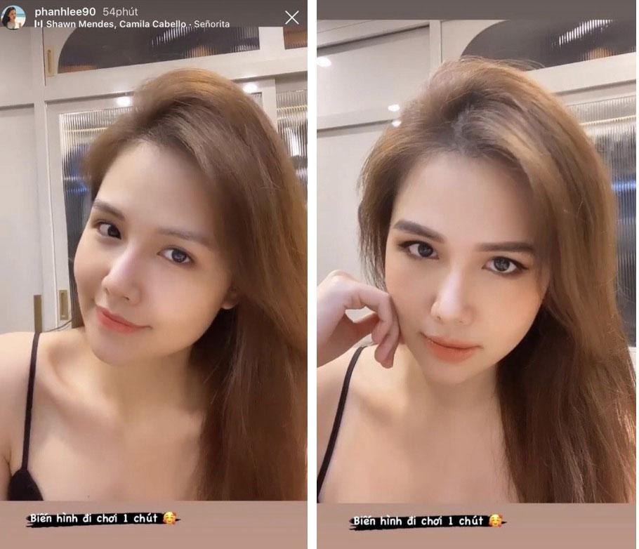 Phanh Lee vừa khoe màn biến hình nhờ makeup, dân tình chỉ mải ngắm mặt mộc của phu nhân tổng tài-1