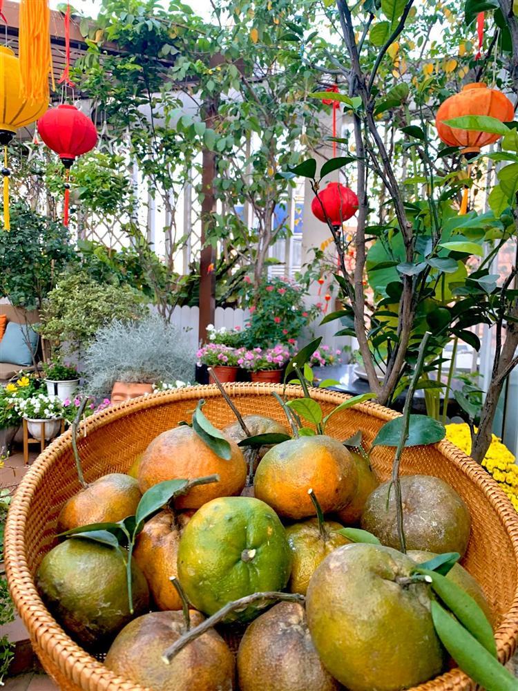 Ghen tị khu vườn 200m² ngập tràn hoa tươi và rau củ quả sạch trên sân thượng của nữ doanh nhân Sài Gòn-16
