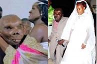 Người đàn ông xấu nhất thế giới có 8 đứa con kết hôn lần 3, nhan sắc vợ mới được khen nổi bật hơn cả 2 người cũ
