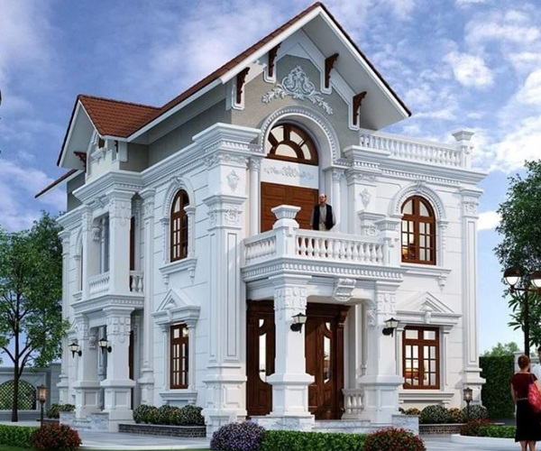 Mẫu nhà 2 tầng đẹp đơn giản hiện đại phù hợp cả nông thôn và thành thị-12