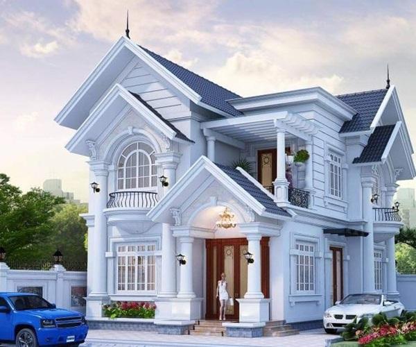 Mẫu nhà 2 tầng đẹp đơn giản hiện đại phù hợp cả nông thôn và thành thị-13