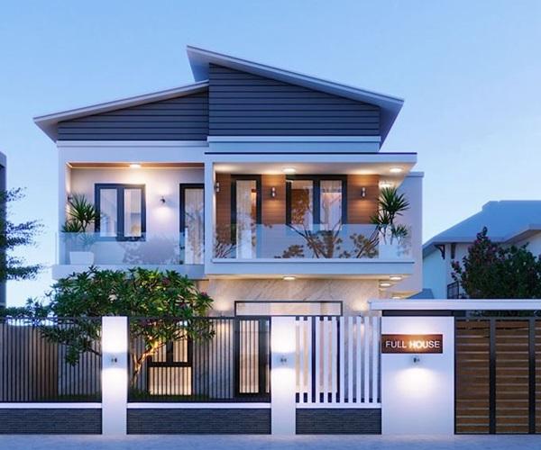 Mẫu nhà 2 tầng đẹp đơn giản hiện đại phù hợp cả nông thôn và thành thị-21