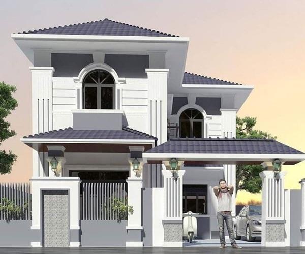 Mẫu nhà 2 tầng đẹp đơn giản hiện đại phù hợp cả nông thôn và thành thị-19