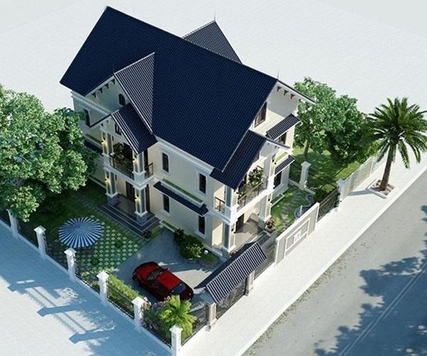 Mẫu nhà 2 tầng đẹp đơn giản hiện đại phù hợp cả nông thôn và thành thị-17