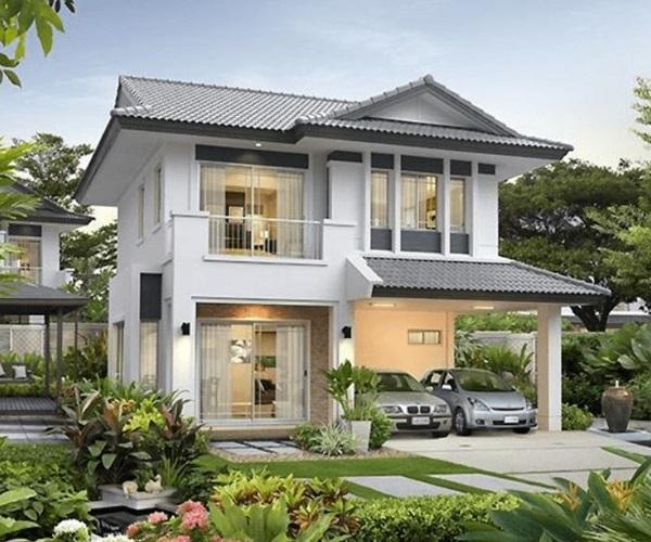 Mẫu nhà 2 tầng đẹp đơn giản hiện đại phù hợp cả nông thôn và thành thị-18