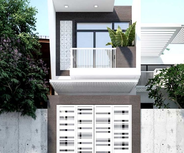 Mẫu nhà 2 tầng đẹp đơn giản hiện đại phù hợp cả nông thôn và thành thị-8