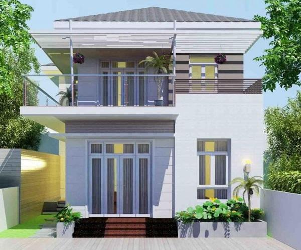 Mẫu nhà 2 tầng đẹp đơn giản hiện đại phù hợp cả nông thôn và thành thị-20