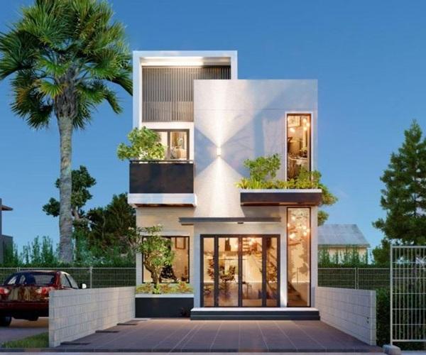 Mẫu nhà 2 tầng đẹp đơn giản hiện đại phù hợp cả nông thôn và thành thị-22