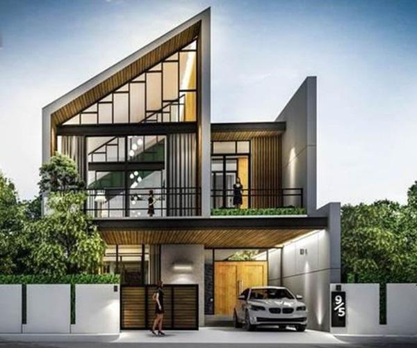 Mẫu nhà 2 tầng đẹp đơn giản hiện đại phù hợp cả nông thôn và thành thị-28
