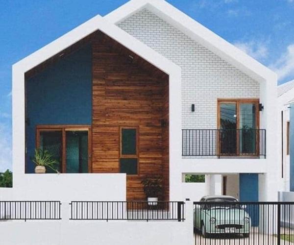 Mẫu nhà 2 tầng đẹp đơn giản hiện đại phù hợp cả nông thôn và thành thị-25