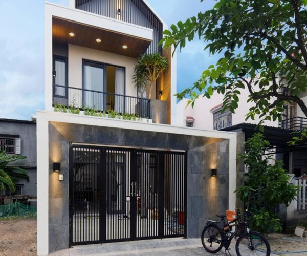 Mẫu nhà 2 tầng đẹp đơn giản hiện đại phù hợp cả nông thôn và thành thị-23