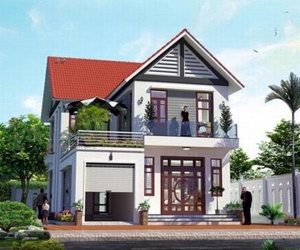 Mẫu nhà 2 tầng đẹp đơn giản hiện đại phù hợp cả nông thôn và thành thị-2