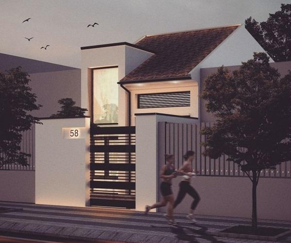 Mẫu nhà 2 tầng đẹp đơn giản hiện đại phù hợp cả nông thôn và thành thị-6