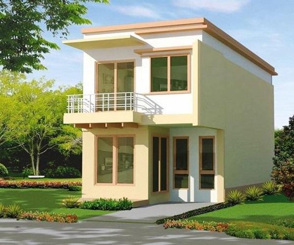 Mẫu nhà 2 tầng đẹp đơn giản hiện đại phù hợp cả nông thôn và thành thị-7