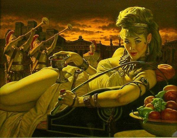 Vị Hoàng hậu trụy lạc nhất lịch sử La Mã, bán dâm ngay trong cung điện-1
