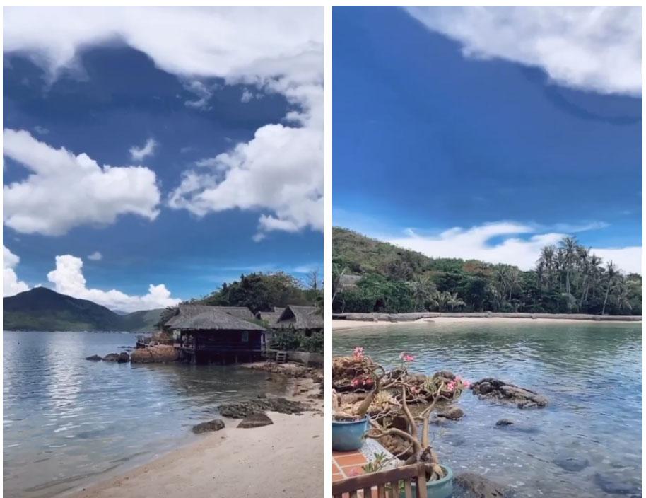 Rich kid Tiên Nguyễn đi du lịch Nha Trang cùng gia đình, vô tình bị anh trai Phillip Nguyễn bóc mẽ hậu trường sống ảo trên bờ biển-2