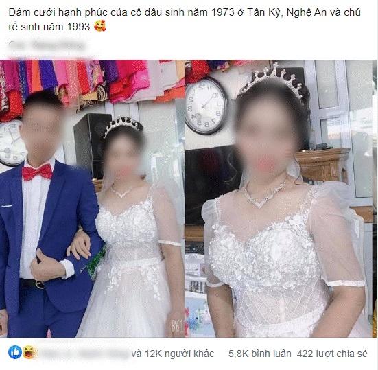 Xôn xao về loạt ảnh cưới của cặp đôi Thái Nguyên: Chú rể 27 cưới vợ 47 tuổi, xuất hiện những lời tố cáo từ người quen cô dâu!-2