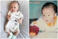 Lục lại ảnh ngày bé của Duy Mạnh, dân mạng lập tức khẳng định: 'Quỳnh Anh lại không thoát được kiếp đẻ thuê rồi!'