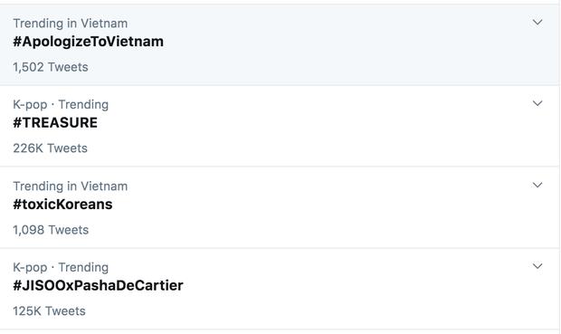 Dân mạng đẩy hashtag Dừng bắt nạt Sơn Tùng M-TP lên #1 trending Twitter Việt Nam khi một bộ phận netizen Hàn có hành động đi quá xa-1