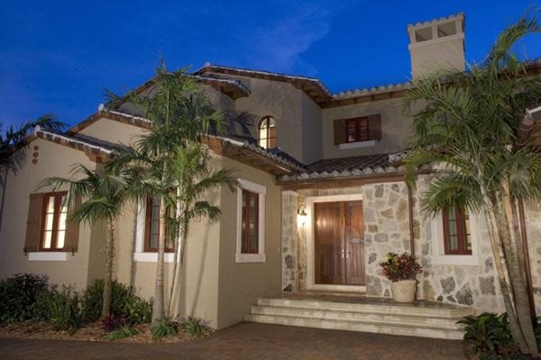 Màu sơn nhà ngoài trời đẹp mê ly, cả nghìn người nhìn đều khen ngợi, đúng đẳng cấp sành điệu-2