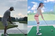 Chưa thấy kiện Âu Hà My, Trọng Hưng đăng clip đi chơi golf cùng status 'Đại bàng và Quạ' đầy ẩn ý