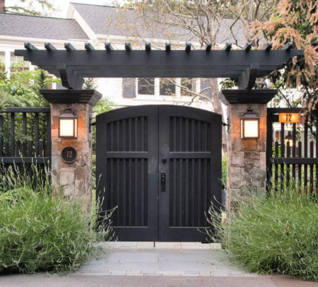 Các mẫu cổng nhà đẹp mang lại bộ mặt hoàn hảo cho tổ ấm của bạn-8