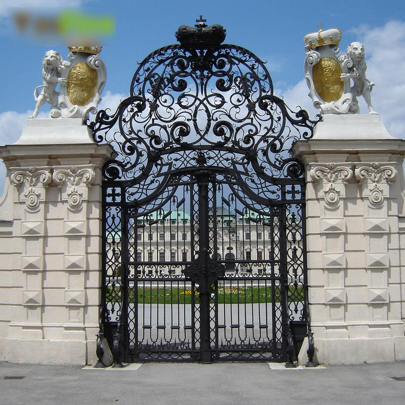 Các mẫu cổng nhà đẹp mang lại bộ mặt hoàn hảo cho tổ ấm của bạn-2
