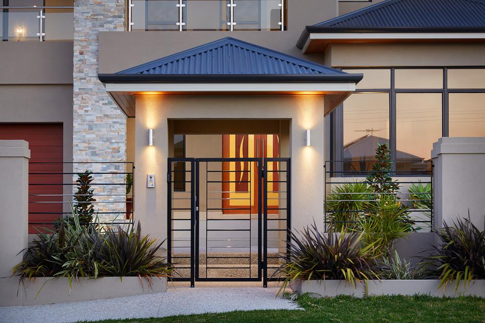 Các mẫu cổng nhà đẹp mang lại bộ mặt hoàn hảo cho tổ ấm của bạn-3