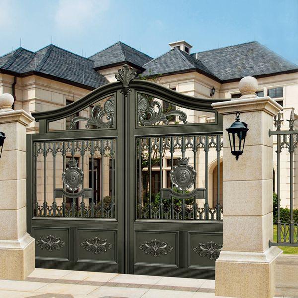 Các mẫu cổng nhà đẹp mang lại bộ mặt hoàn hảo cho tổ ấm của bạn-5