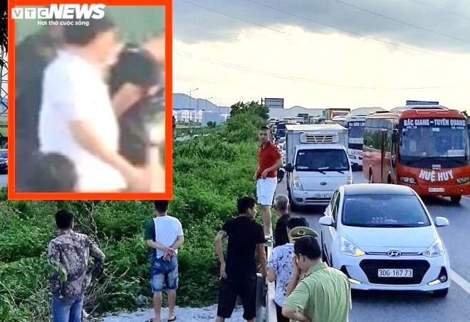 Tài xế xe bán tải tông chết cảnh sát cơ động ở Bắc Giang ra đầu thú-1
