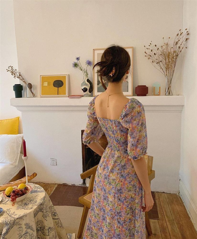 Gái Pháp cứ Thu đến là lại diện váy hoa, mặc vừa xinh lại còn siêu thanh lịch-6
