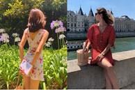 Gái Pháp cứ Thu đến là lại diện váy hoa, mặc vừa xinh lại còn siêu thanh lịch