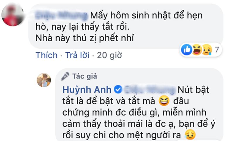 Huỳnh Anh lần đầu phản ứng căng đét trước tin nay tan mai hợp Quang Hải-3