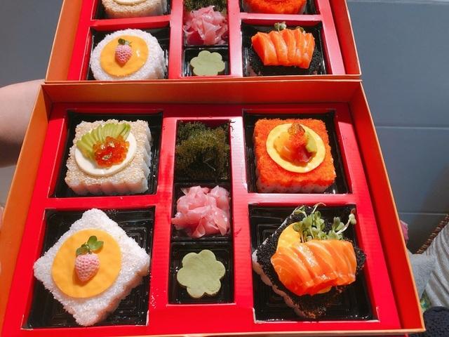 Độc đáo nhất mùa trung thu năm nay: Bánh trung thu sushi tiền triệu/hộp-2