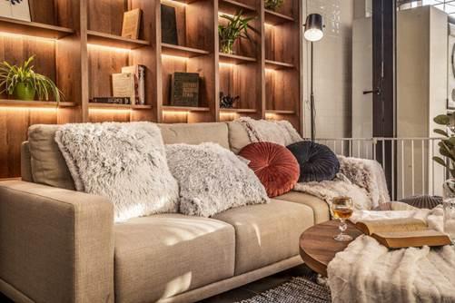 Chiêm ngưỡng căn chung cư đẹp mê hồn của vợ chồng trẻ ở Hà Nội-1