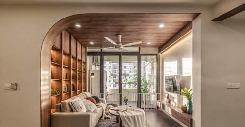 Chiêm ngưỡng căn chung cư đẹp mê hồn của vợ chồng trẻ ở Hà Nội-5