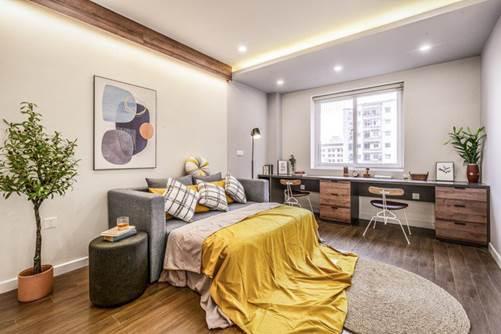 Chiêm ngưỡng căn chung cư đẹp mê hồn của vợ chồng trẻ ở Hà Nội-6