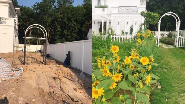 Biệt thự nhà vườn ngập tràn các loại hoa của gia đình ở Bình Dương-3