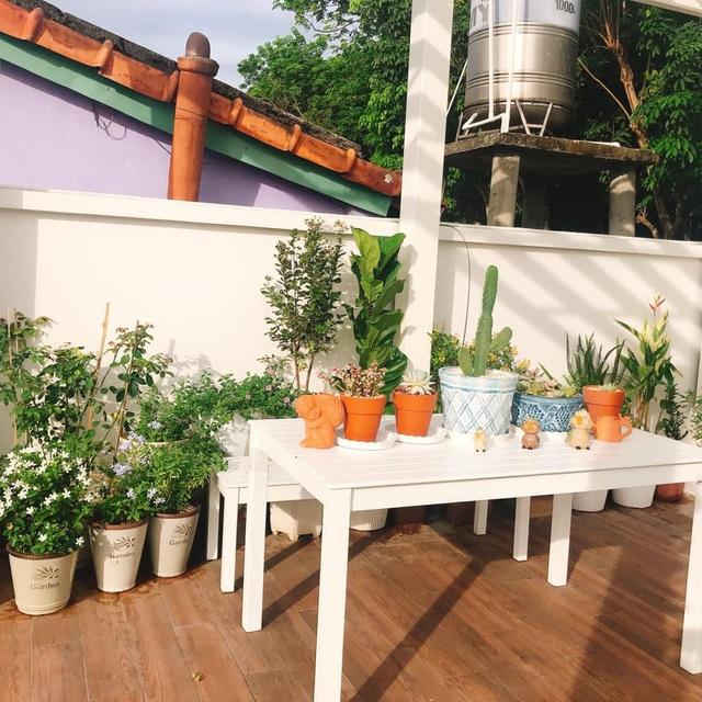 Biệt thự nhà vườn ngập tràn các loại hoa của gia đình ở Bình Dương-6