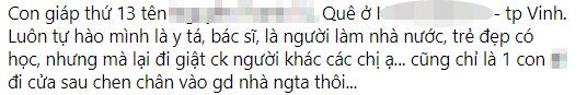"""Người vợ thành Vinh cao tay: Chồng ngoại tình chẳng thèm đánh ghen, lên mạng dán nhãn, định danh"""" đầy đủ cho tiểu tam để… năm sau facebook nhắc lại-2"""