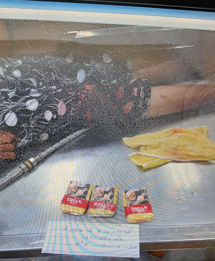 Tìm thân nhân cụ bà nhặt ve chai bị 2 ô tô tông chết ở Biên Hòa-1