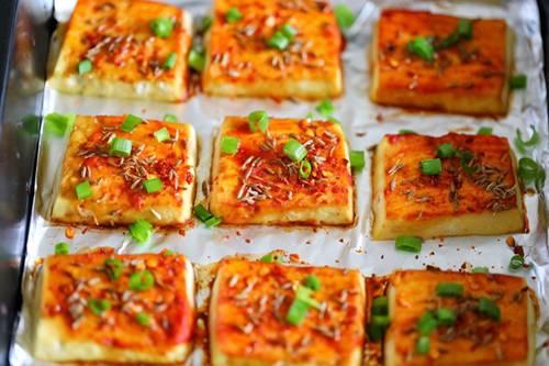 Chán rán hoặc sốt cà chua, cho đậu phụ vào nướng lại được món ngon bất ngờ-6