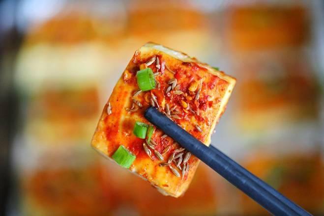 Chán rán hoặc sốt cà chua, cho đậu phụ vào nướng lại được món ngon bất ngờ-7
