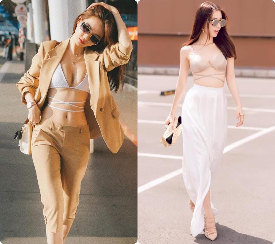 Ngọc Trinh mặc bikini gây náo loạn tại sân bay, dân tình đào ngay ra nữ chính VTV từng diện 4 năm trước, thậm chí còn táo bạo hơn nhiều-4